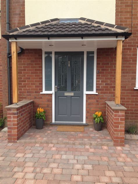Front Door Porch by Richmond Style Front Door Painted In Gallant Grey By