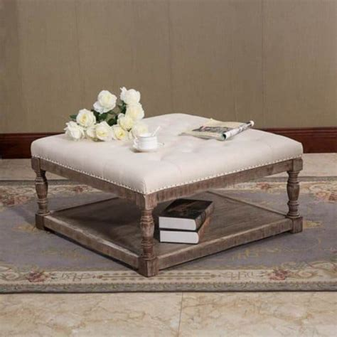 Large Cushioned Ottoman by Top 10 Large Ottomans For Your Living Room