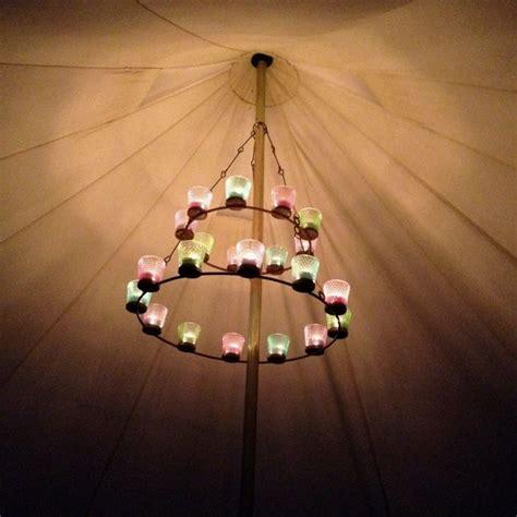 Bell Tent Chandelier by Bell Tent Chandelier Yurt Ideas