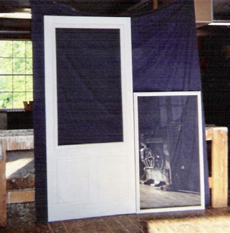 screen door with glass insert wood custom and screen doors jim illingworth 7872