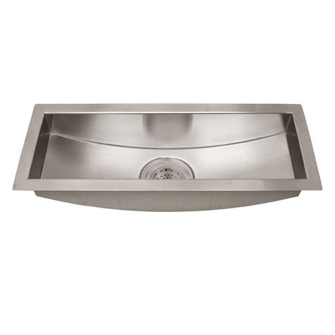 stainless steel trough sink 22 quot executive zero radius stainless steel curved bottom