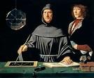 Luca Pacioli et Guidobaldo da Montefeltro, 1495, Jacopo de ...
