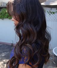 Dark Brunette Hair Color with Highlights