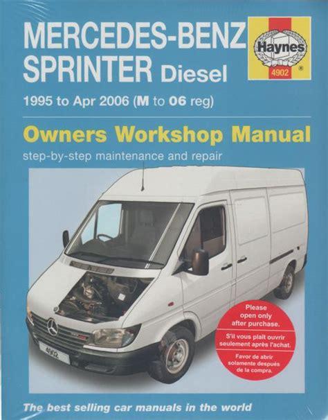 online car repair manuals free 1995 mercedes benz s class parking system mercedes benz sprinter diesel 1995 2006 workshop manual sagin workshop car manuals repair