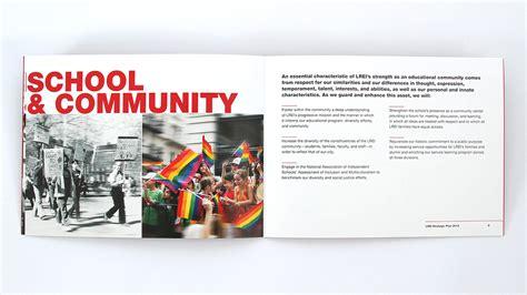 lrei school capital campaign brochure  trillion creative