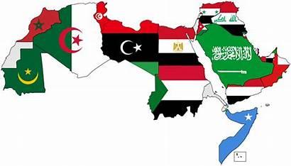 Arab Flags Map Wikimedia Wiki Commons العربي