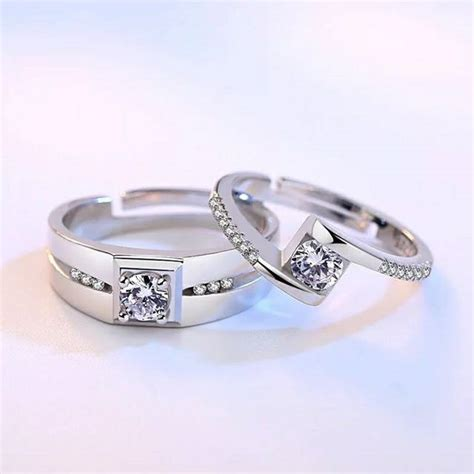 couple ring engagement ring wedding ring 2019 hot sale