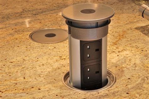 kitchen astonishing pop up outlets for kitchen countertop