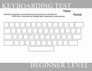 14 best images of computer typing worksheets blank for Blank keyboard template printable