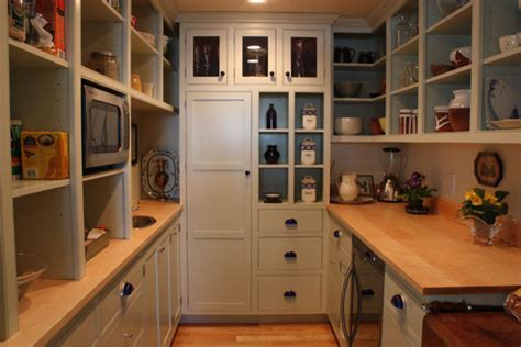 Custom Walk in Pantry   Traditional   Kitchen   Portland