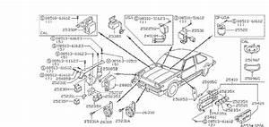 Nissan Stanza Relay E F I  Jideco  Unit  Room