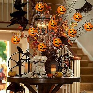 6, 10, 20led, Battery, Operated, Halloween, Pumpkin, Led, String, Lights, Halloween, Holiday, Christmas