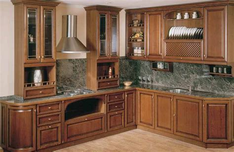 Furniture For Kitchen Cabinets Corner Kitchen Cabinet Designs An Interior Design