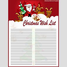 Another Cute Christmas List I
