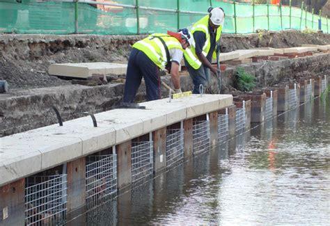 plastic sheet piling condor projects soil nails rock