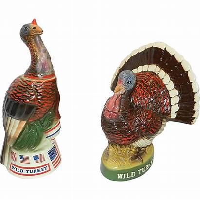 Turkey Wild Decanters Series Grandmother Had Rubylane