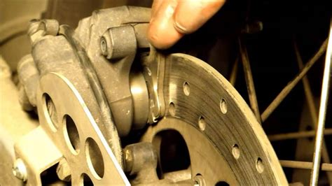 Replacing Rear Brake Pads