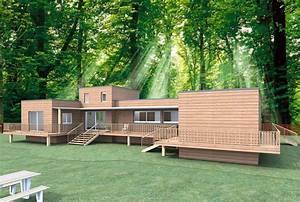 Maison En Bois Nord : couleur maison construction notre tude pour une maison bois ebene ~ Nature-et-papiers.com Idées de Décoration