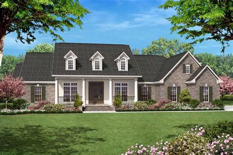 Traditional Country Home by Traditional Country Home Floor Plan Four Bedrooms Plan