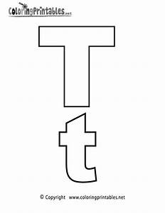 alphabet letter t coloring page a free english coloring With 2 alphabet letters
