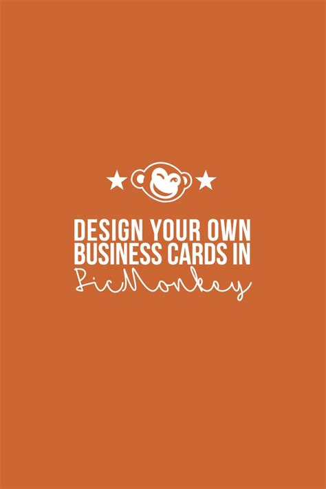 design your own business cards design your own business cards in picmonkey business