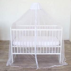 Moustiquaire Ciel De Lit : ciel de lit moustiquaire universel blanc doux nid ~ Dallasstarsshop.com Idées de Décoration