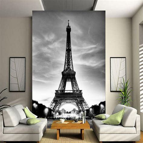 custom  wall mural photo wallpaper eiffel tower paris