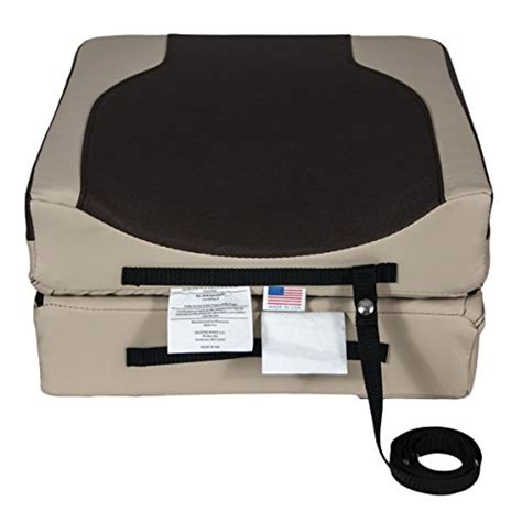Boat Bolster Seat by Bolster Buddy Quality Boat Seat Cushion Mocha X Large