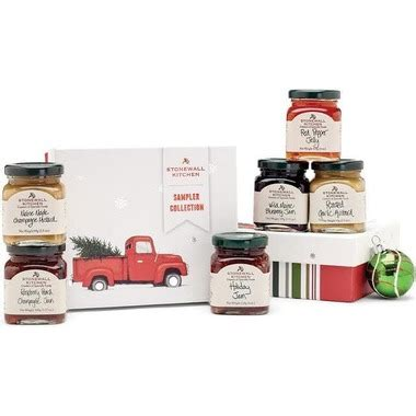 buy stonewall kitchen holiday sampler collection