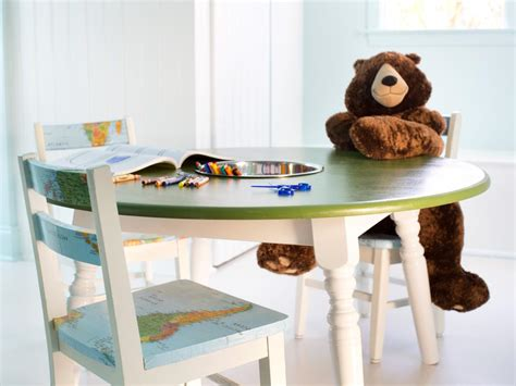 How To Repurpose A Dining Table Into A Kids' Activity