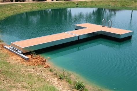 Small Floating Pond Dock