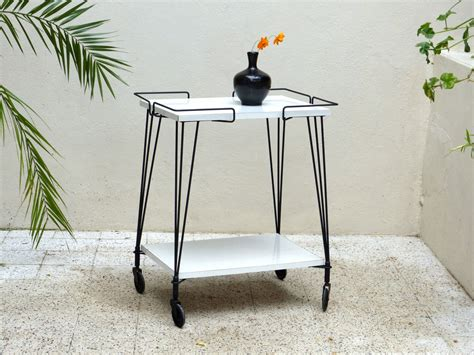 table d appoint vintage side table or trolley table haute juice