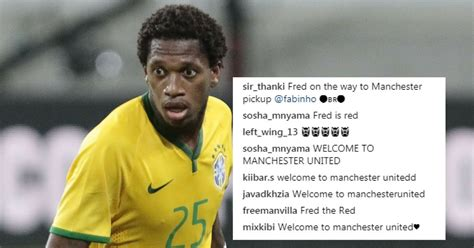 Manchester United Target Fred Sends Fans Wild With Cryptic