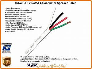 16awg Cl2 Rated 4