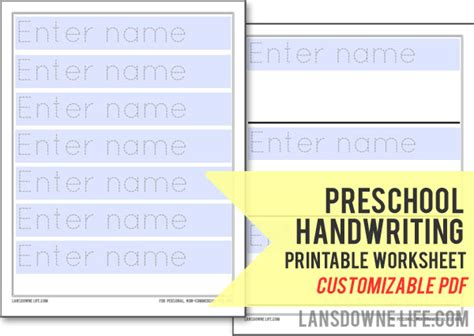 preschool handwriting worksheet free printable 697 | preschool printable workshe