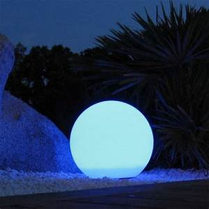 Boule Lumineuse Exterieur Solaire : lumisky 303126 boule lumineuse multicolore d ~ Edinachiropracticcenter.com Idées de Décoration