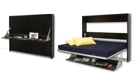 bureau de lit lits donny 160 x 200 avec bureau pliable un lit moderne