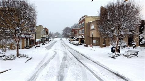 city  lenoir prepping  winter storm caldwell journal