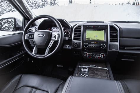 ford expedition interior 2018 ford expedition drive review canadian auto review
