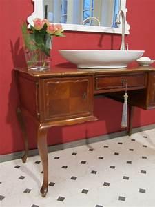 Badmöbel Vintage Style : edler waschtisch antik landhaus f r das bad wasserheimat ~ Michelbontemps.com Haus und Dekorationen