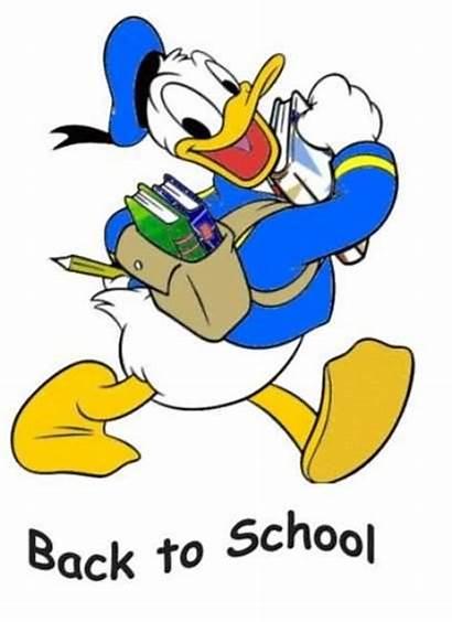 Duck Clipart Animated Donald Clip Graphic Sad