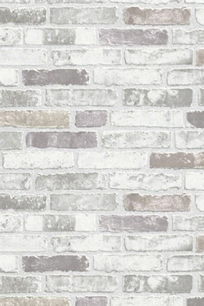 gray white brick wallpaper brickwallpapercom