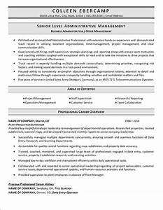 8 business administration resumereport template document With business administration resume sample