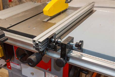 feineinstellung parallelanschlag tischkreissaege holzmann