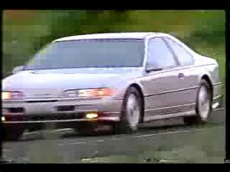 Ford Thunderbird SC 1991 - México - YouTube