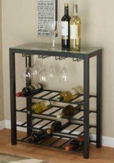 metal wine rack  glass top decor design ideas  hd images fromthearmchair