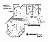 bathroom floor plan Master Bathroom Floor Plans Modern | This For All