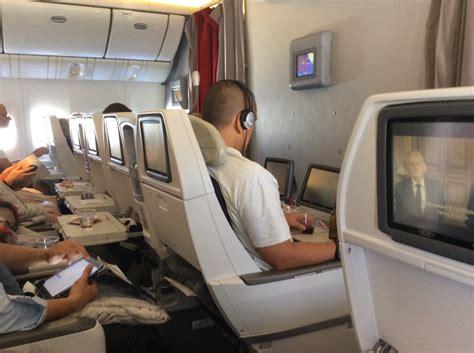 cabine siege avis du vol air papeete en premium eco