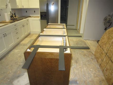 Kitchen Countertop Support Brackets by Island Support System