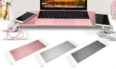 pc bureau ou portable support 4 ports usb pc portable groupon shopping